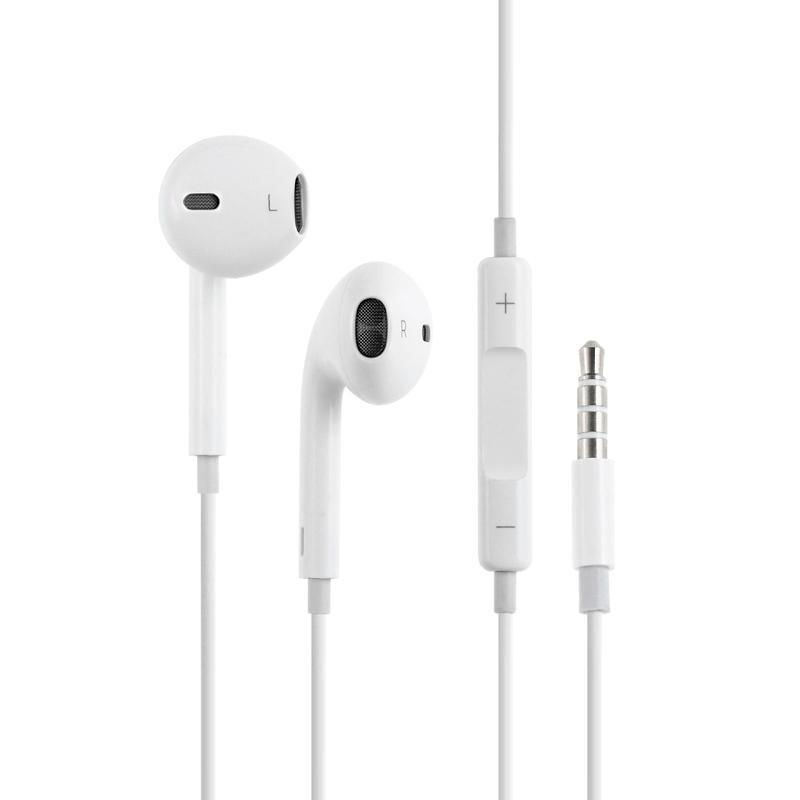 HF Hoco M1 Apple White + mic + button call answering + volume control