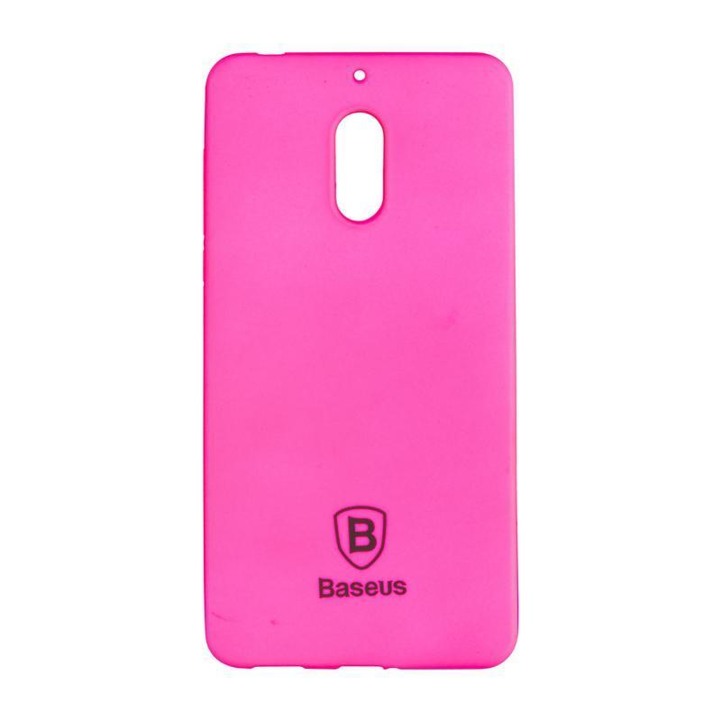 Baseus Soft Colorit Case for Nokia 6 Pink