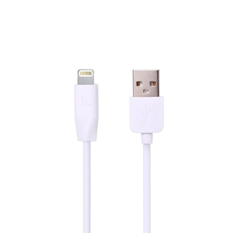 USB Cable Hoco X1 Rapid iPhone 6 White 3m
