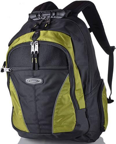 """Прочный рюкзак 30 л. с отделением для ноутбука 15,4"""" ONEPOLAR (ВАНПОЛАР) W1077-green"""