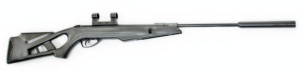 Пневматическая винтовка Чайка 12М с газовой пружиной и глушителем