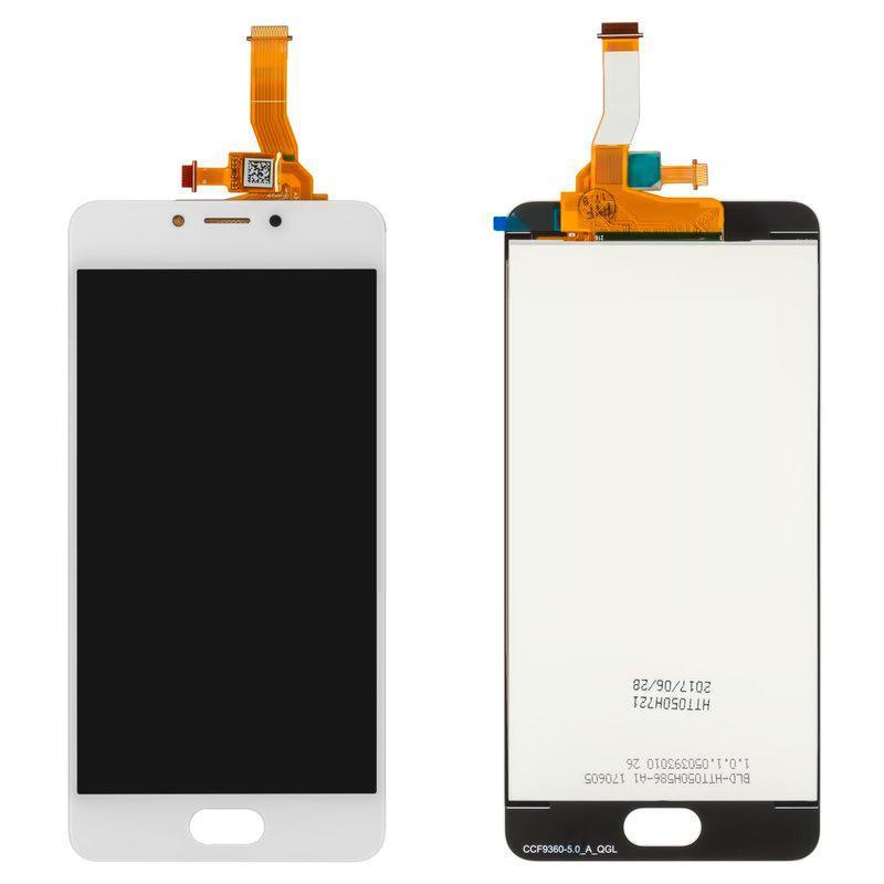 Дисплейный модуль (LCD + touch) Meizu M5c (M710h) белый original