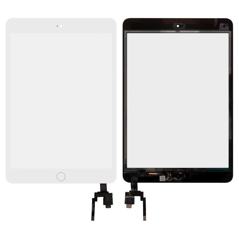 Сенсор (touchscreen) + Len iPad mini 3 с микросхемой белый оригинал китай