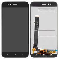 Дисплейный модуль (LCD + touch) Xiaomi Mi A1 черный original