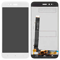 Дисплейный модуль (LCD + touch) Xiaomi Mi A1 белый original