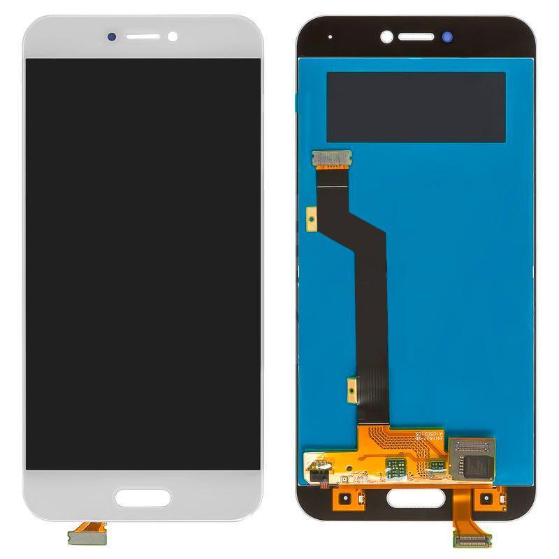 Дисплей и сенсор (модуль) на Xiaomi Mi5c белый