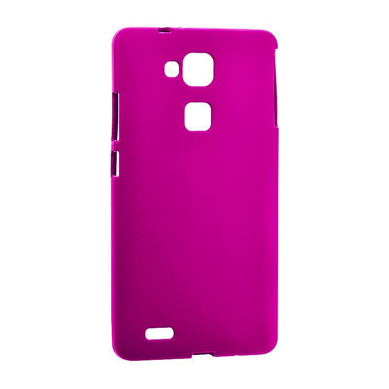 Original Silicon Case Huawei Y7/Y7 Prime Pink