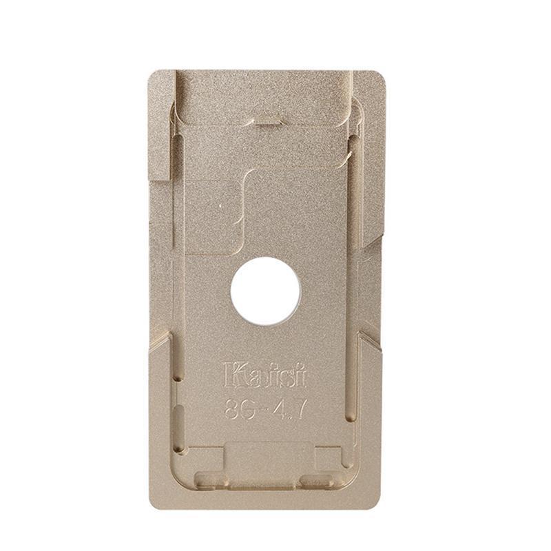 Форма металлическая для установки стекла с рамкой iPhone 8