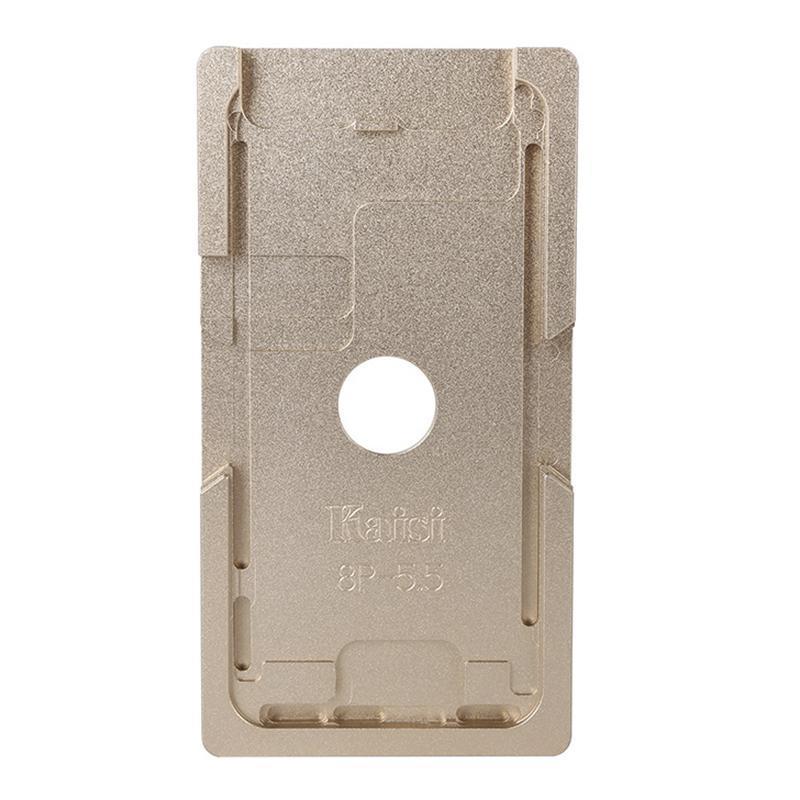 Форма металлическая для установки стекла с рамкой iPhone 8 Plus