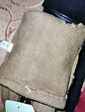 Замш тонкий женские перчатки стильные только оптом, фото 5