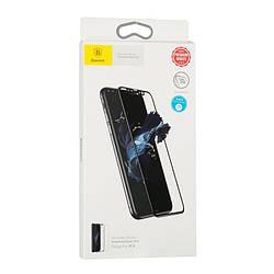 Защитное стекло Baseus (OR) Silk-Screen Anti-Blue Light Tempered Glass Film iPhone X White (0.3mm)
