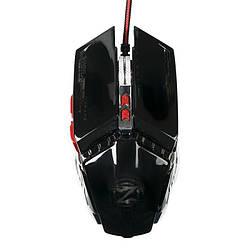 Мышь USB Zornwee GX20 Black