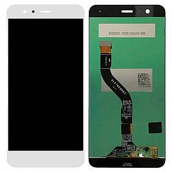 Дисплей и сенсор (модуль) на Huawei Nova Lite белый