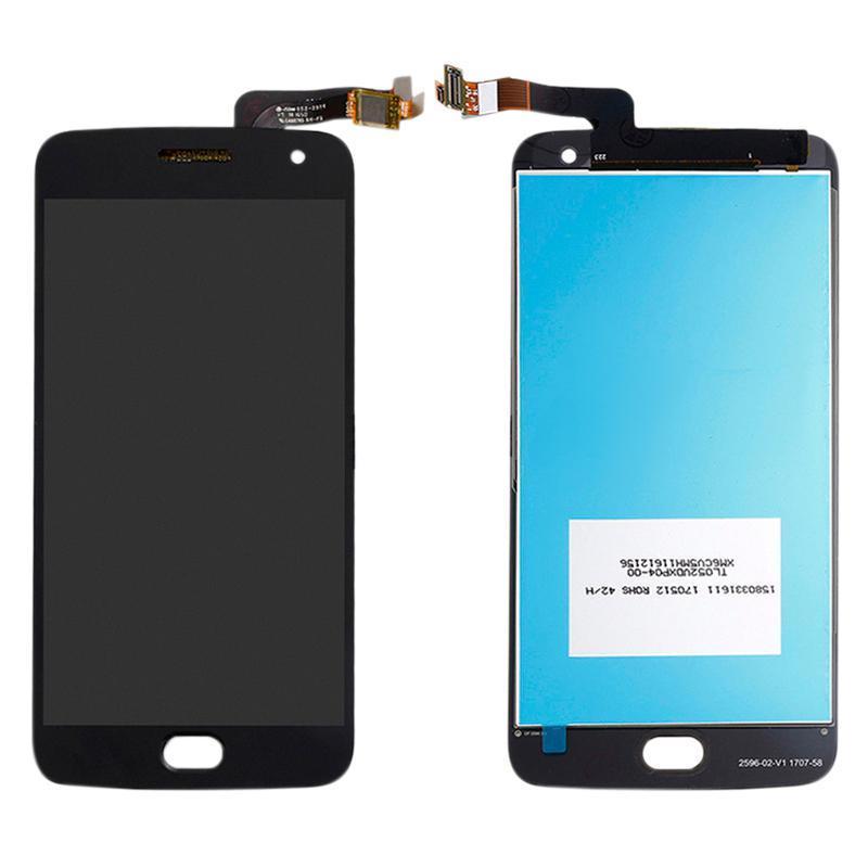 Дисплей і сенсор (модуль) на Motola Moto G5 (XT1685) чорний