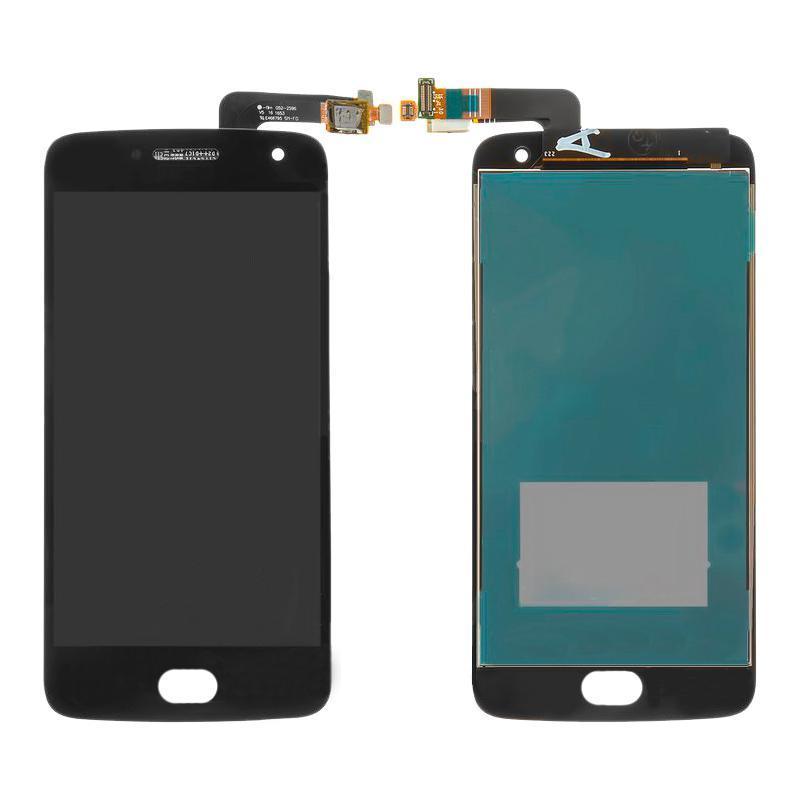 Дисплей і сенсор (модуль) на Motorola Moto G5 Plus (XT1676) чорний