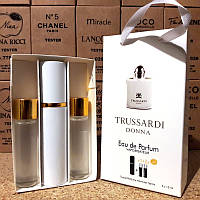 Парфюмерия в сумочке Trussardi Donna (Труссарди Донна) с феромонами, 3x15 мл
