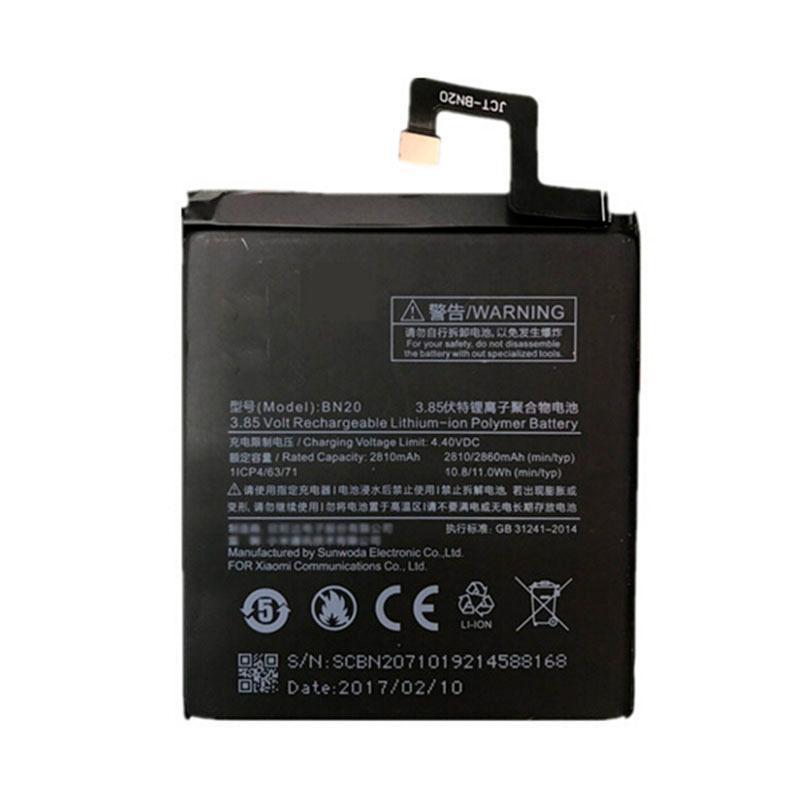 Аккумулятор (батарея) для Xiaomi BN20 (Mi5c) (высокое качество)