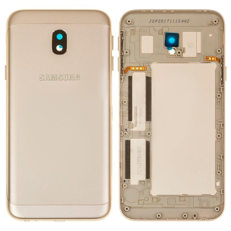 Задня кришка Samsung J330 (J3-2017) OR Gold