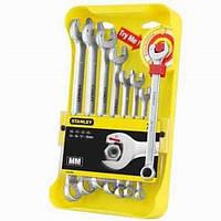 """Набор ключей комбинированных """"ratcheting Wrench"""" ,8пр."""