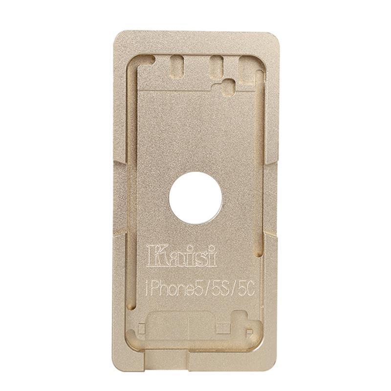 Форма металлическая для установки стекла с рамкой iPhone 5/5S
