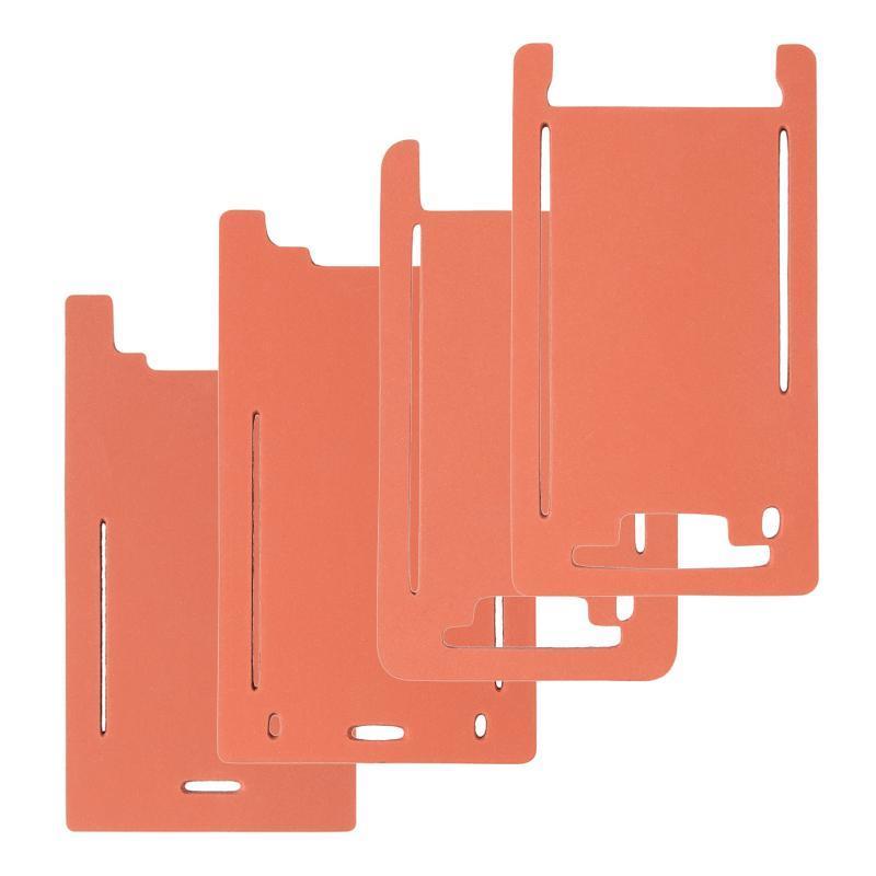 Форма из пористой резины для отцентровки дисплейного модуля iPhone X