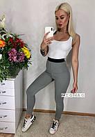 """Лосины женские спортивные на резинке размер 42-46 (2цв) """"ZigZag"""" купить недорого от прямого поставщика"""