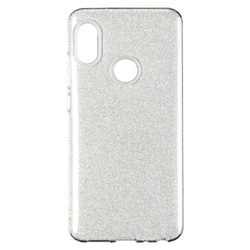 Remax Glitter Silicon Case Huawei Y6 (2018) Silver