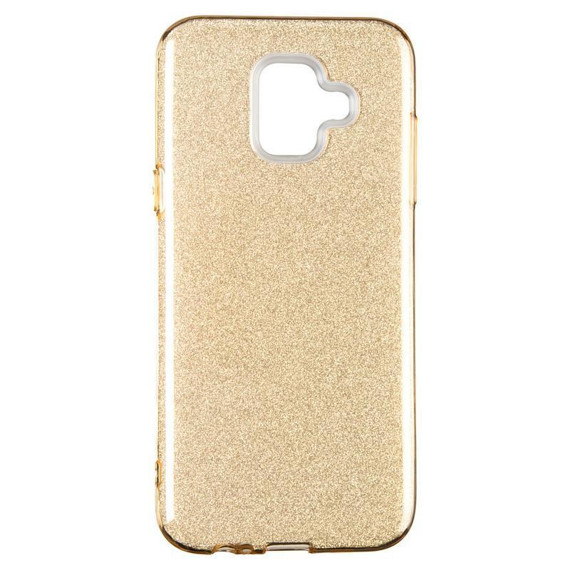 Remax Glitter Silicon Case Samsung A600 (A6-2018) Gold