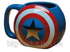 Бокал Щит Капитана Америки 3D