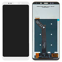 Дисплейный модуль (LCD + touch) Xiaomi Redmi 5 Plus белый original