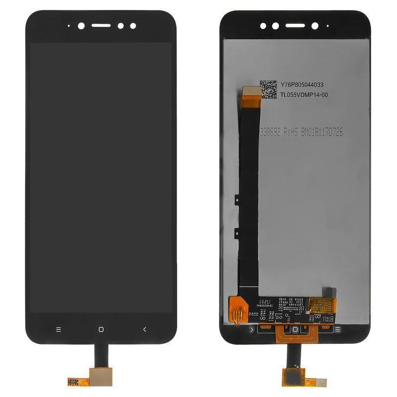Дисплей і сенсор (модуль) на Xiaomi Redmi Note 5a Prime чорний