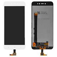 Дисплейный модуль (LCD + touch) Xiaomi Redmi Note 5a Prime белый original