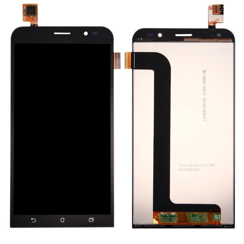 Дисплей і сенсор (модуль) на ASUS Zenfone Go чорний (5.2 - ZB552KL)