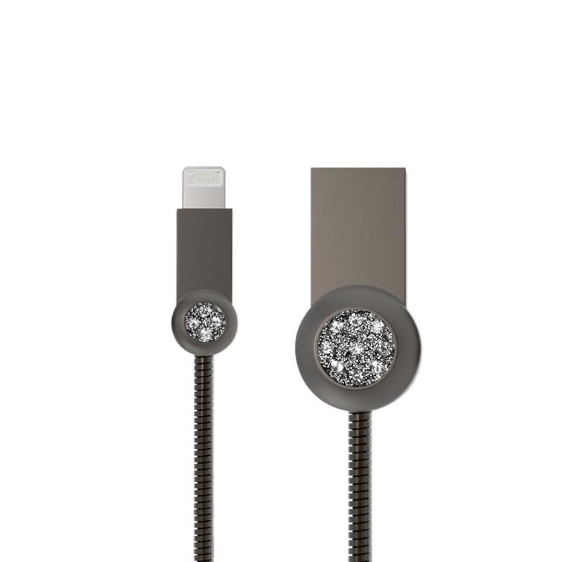 USB Cable Remax (OR) Moon RC-085i iPhone 7 Grey 1m