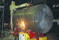 Изготовление резервуаров, производство емкостей металлических.