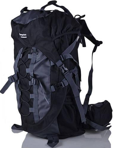 Качественный мужской походный рюкзак туристический 55 л. Onepolar W836-black чёрный