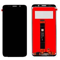 Дисплейный модуль (LCD + touch) Huawei Y5 (2018) черный