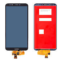 Дисплейный модуль (LCD + touch) Huawei Y7 Prime (2018) черный
