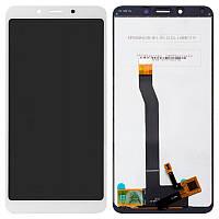 Дисплейный модуль (LCD + touch) Xiaomi Redmi 6/ 6a белый original