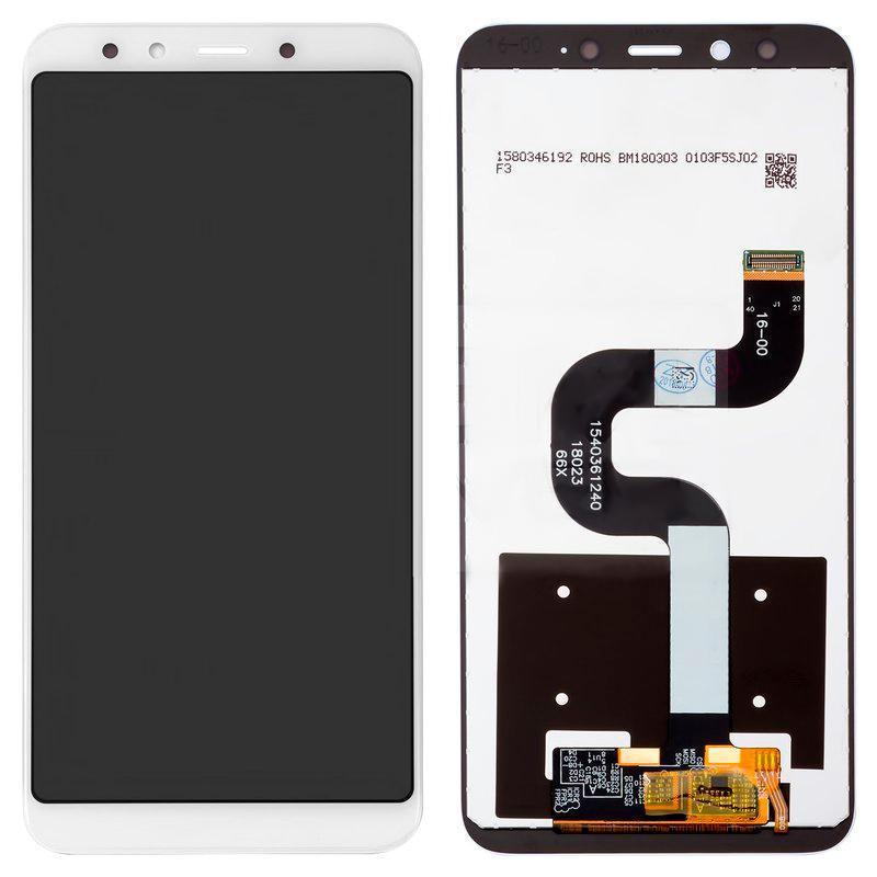 Дисплей и сенсор (модуль) на Xiaomi Mi A2, Mi6x белый