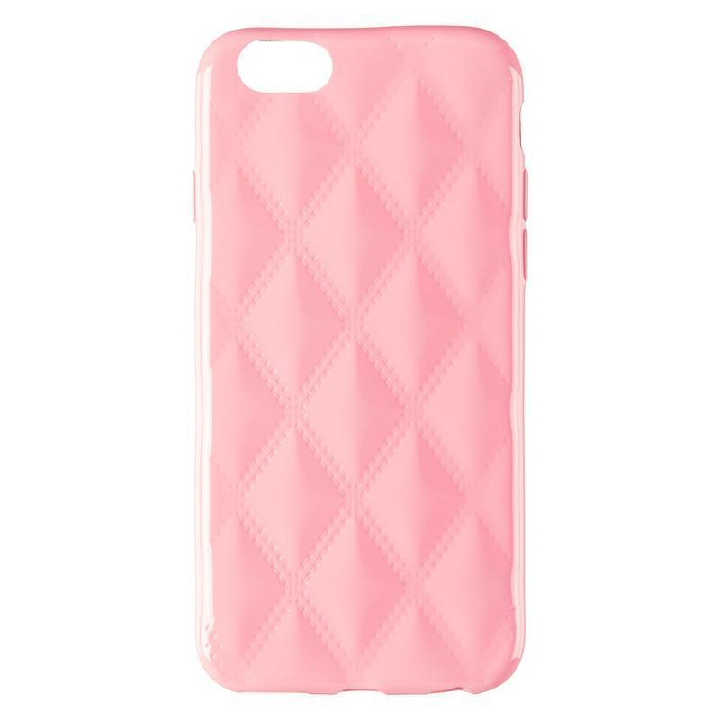 Baseus Rhombus Case for iPhone 6 Light Pink