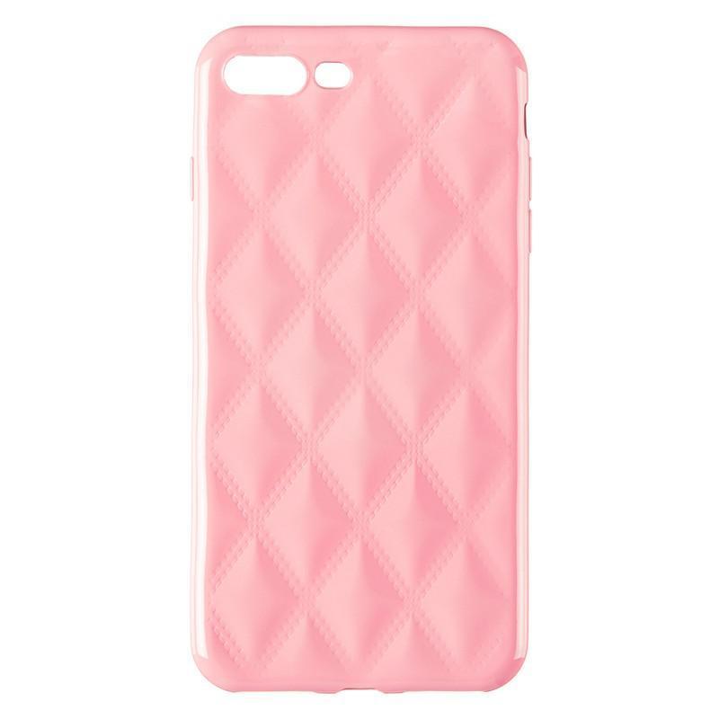 Baseus Rhombus Case for iPhone 7 Plus/8 Plus Light Pink