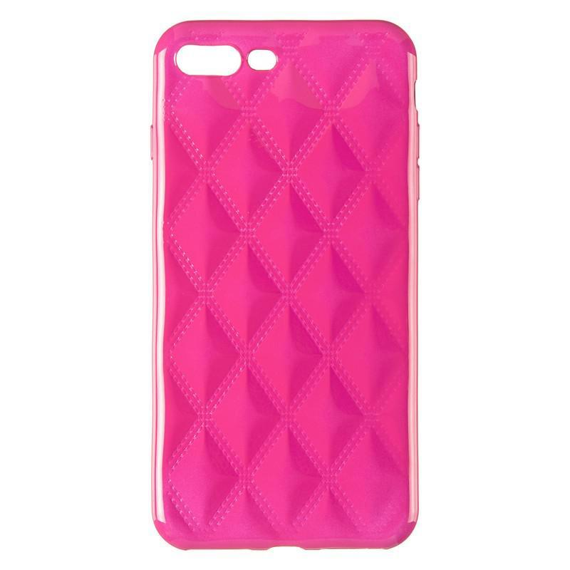 Baseus Rhombus Case for iPhone 7 Plus/8 Plus Pink