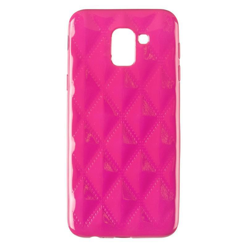 Baseus Rhombus Case for Samsung J600 (J6-2018) Pink