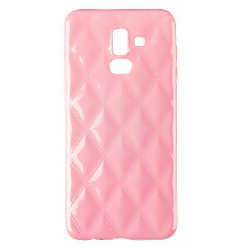 Baseus Rhombus Case for Samsung J810 (J8-2018) Light Pink