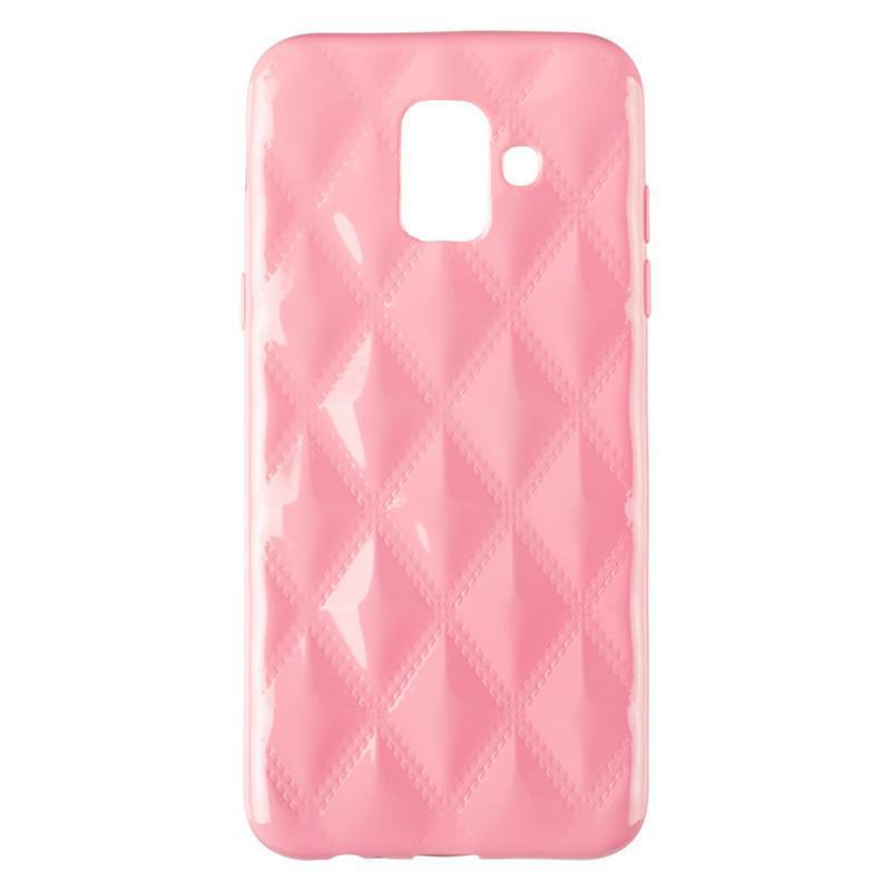 Baseus Rhombus Case for Samsung A600 (A6-2018) Light Pink