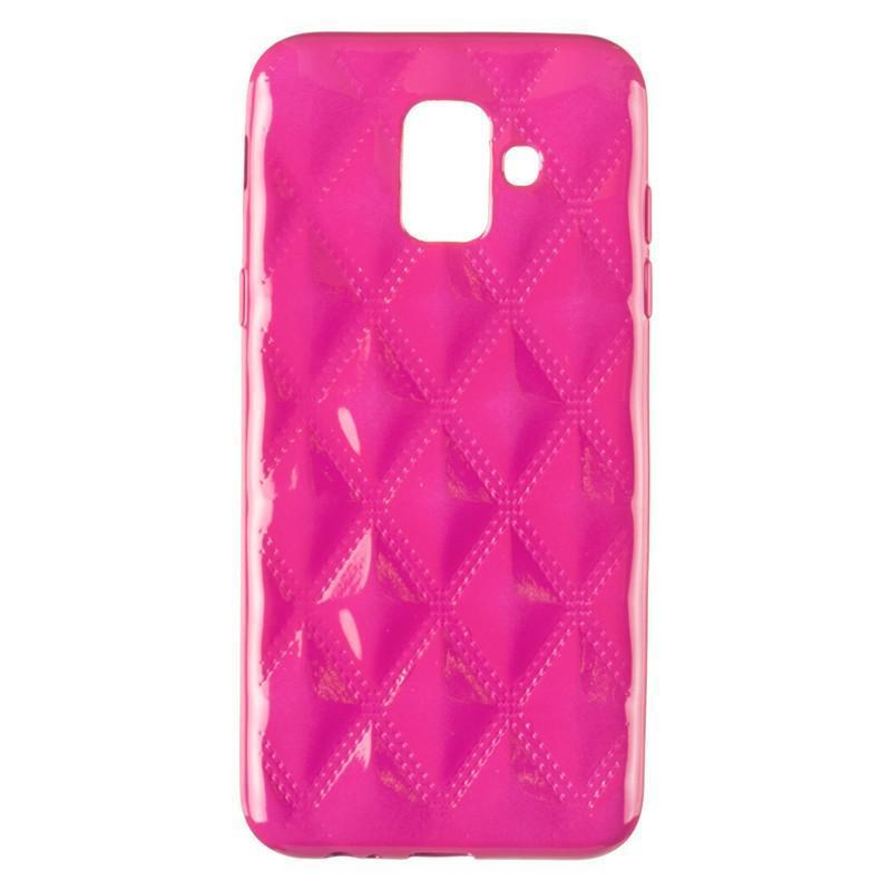 Baseus Rhombus Case for Samsung A600 (A6-2018) Pink