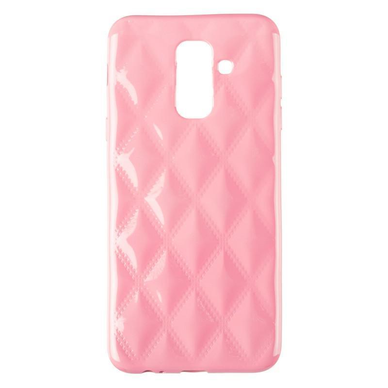 Baseus Rhombus Case for Samsung A605 (A6 Plus-2018) Light Pink