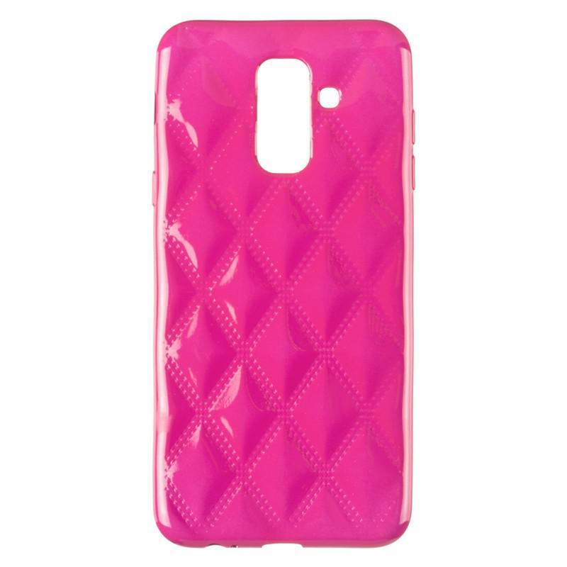 Baseus Rhombus Case for Samsung A605 (A6 Plus-2018) Pink