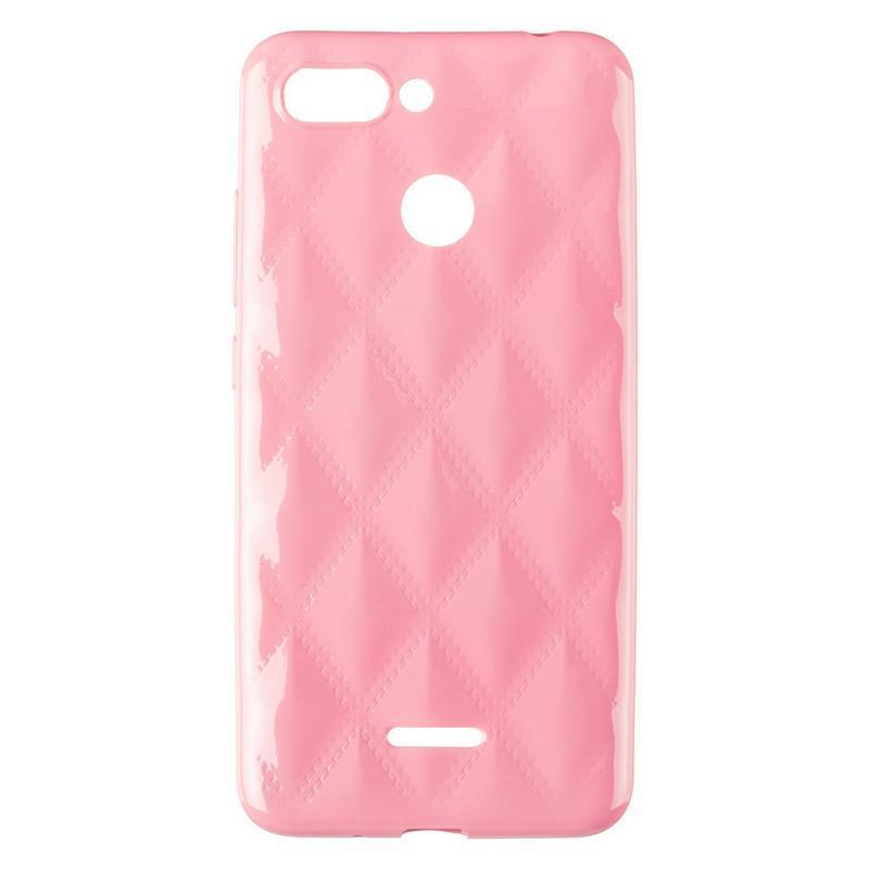 Baseus Rhombus Case for Xiaomi Redmi 6 Light Pink